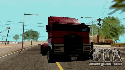 JoBuilt Hauler Fixet из GTA 5 for GTA San Andreas