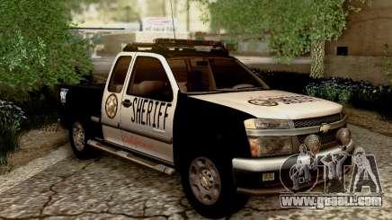 Chevrolet Colorado Sheriff for GTA San Andreas