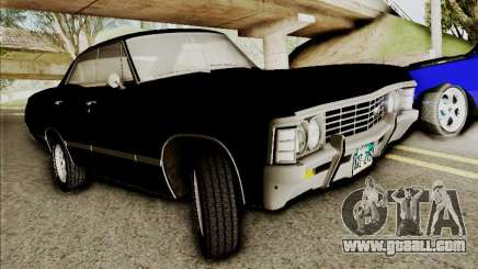 Chevrolet Impala SS 1967 Hardtop Sedan 396 for GTA San Andreas
