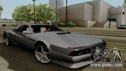 Cheetah v2 for GTA San Andreas
