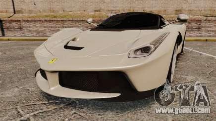 Ferrari LaFerrari Spider v2.0 for GTA 4