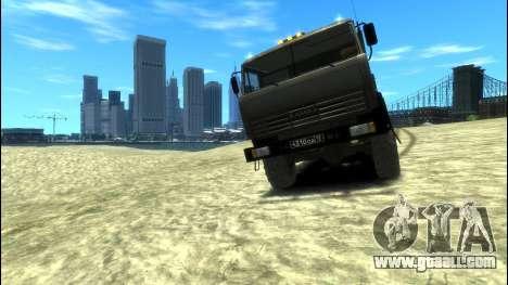 KamAZ 43114 Side for GTA 4 back left view