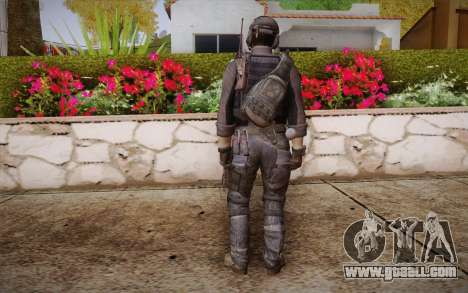Kick из Call of Duty: Ghosts for GTA San Andreas second screenshot