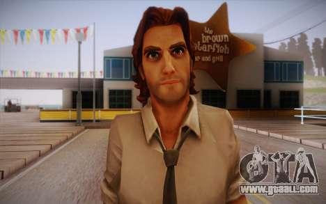 Bigby Wolf for GTA San Andreas third screenshot