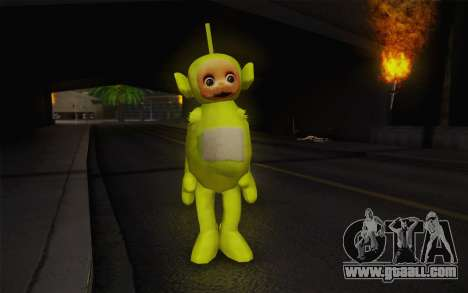 Despi of the Teletubbies for GTA San Andreas