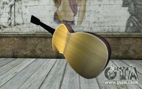 Acoustic Guitar for GTA San Andreas second screenshot