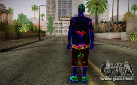 Zero VirusStyle Skin for GTA San Andreas second screenshot