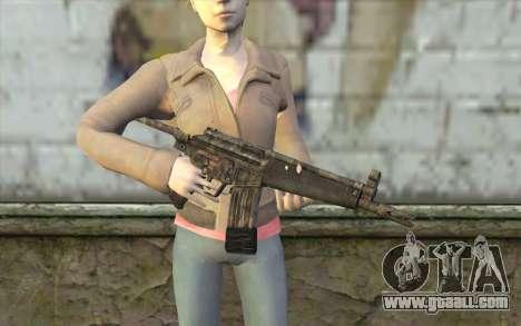 G53 with Woodland Camo BF3 for GTA San Andreas third screenshot