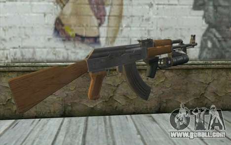 AK47 with GP-25 for GTA San Andreas second screenshot