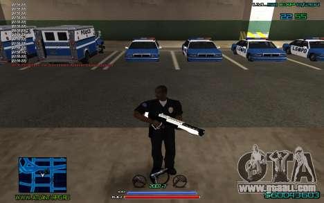 C-HUD by CONVERSION for GTA San Andreas second screenshot