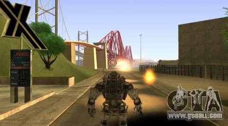 TitanFall Atlas for GTA San Andreas sixth screenshot