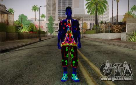 Zero VirusStyle Skin for GTA San Andreas