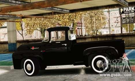 Ford F100 Hot Rod Truck 426 Hemi for GTA 4 left view
