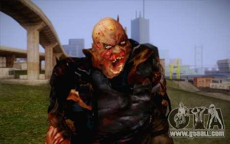 Zombie for GTA San Andreas third screenshot