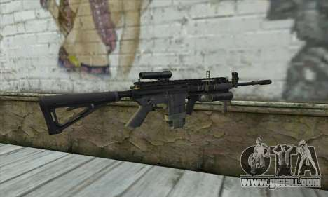M4A1 из COD Modern Warfare 3 for GTA San Andreas second screenshot
