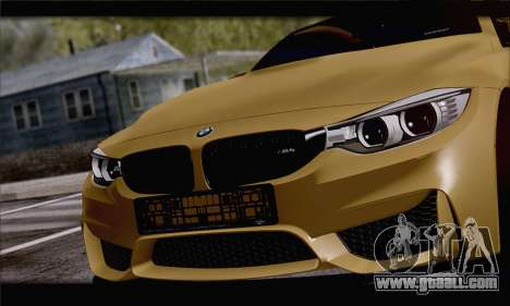 BMW M4 F80 Stanced for GTA San Andreas right view