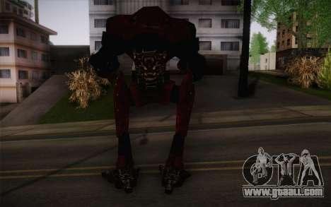 Bio-Mechanoid из SS3 for GTA San Andreas second screenshot