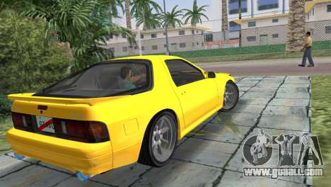 Mazda Savanna RX-7 III (FC3S) for GTA Vice City left view