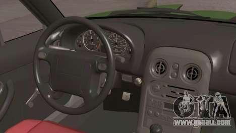 Mazda Miata Hellaflush for GTA San Andreas right view
