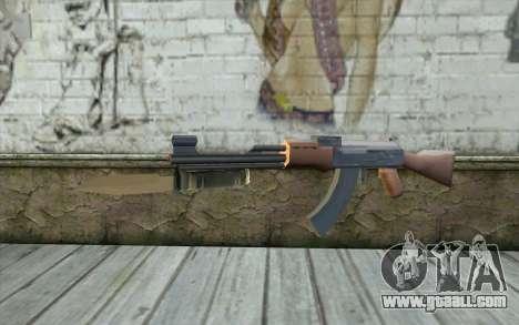 AK47 with a bayonet for GTA San Andreas