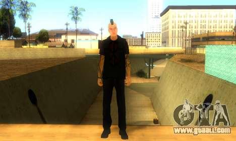 Punk (vwmycr) for GTA San Andreas
