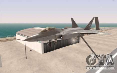 F-22 Raptor for GTA San Andreas