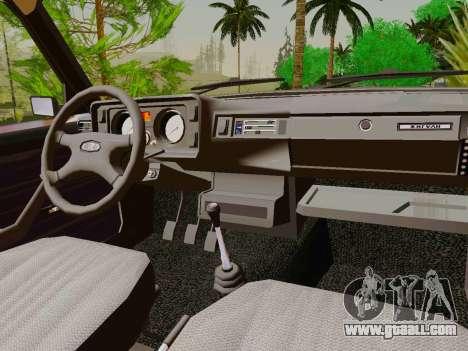 VAZ-2105 for GTA San Andreas inner view