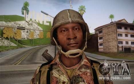 U.S. Soldier v3 for GTA San Andreas third screenshot
