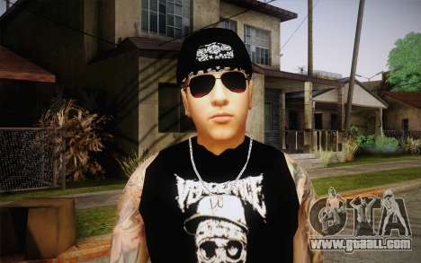 M. Shadows Skin for GTA San Andreas