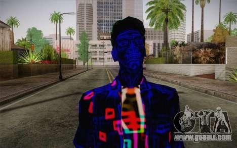 Zero VirusStyle Skin for GTA San Andreas third screenshot