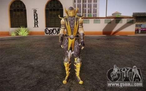 Scorpion из Mortal Kombat 9 for GTA San Andreas