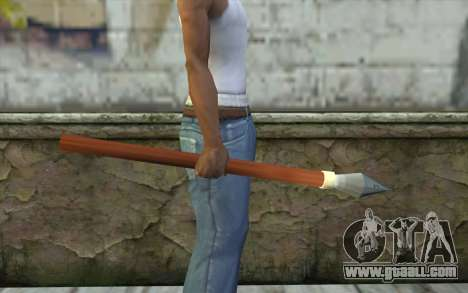Spear for GTA San Andreas second screenshot