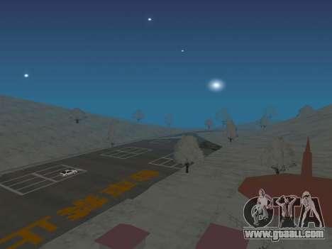 SinAkagi Snow Drift track for GTA San Andreas