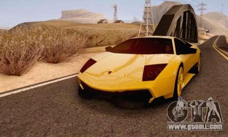 Lamborghini Murcielago LP670-4 SV for GTA San Andreas left view