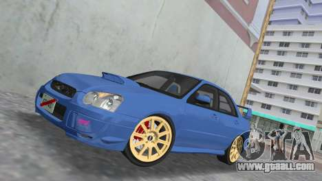 Subaru Impreza WRX STI 2005 for GTA Vice City side view