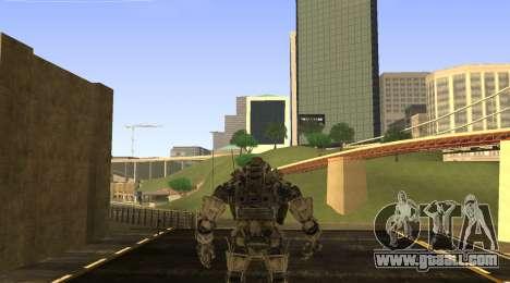 TitanFall Atlas for GTA San Andreas second screenshot