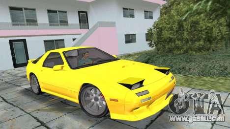 Mazda Savanna RX-7 III (FC3S) for GTA Vice City