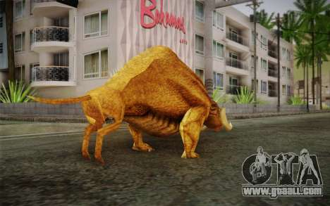 Sirian Werebull for GTA San Andreas second screenshot