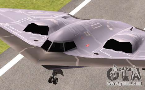 B-2 Spirit for GTA San Andreas right view