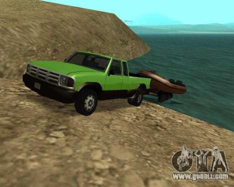 New Pickup for GTA San Andreas interior
