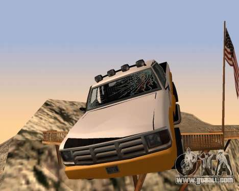 New Pickup for GTA San Andreas bottom view