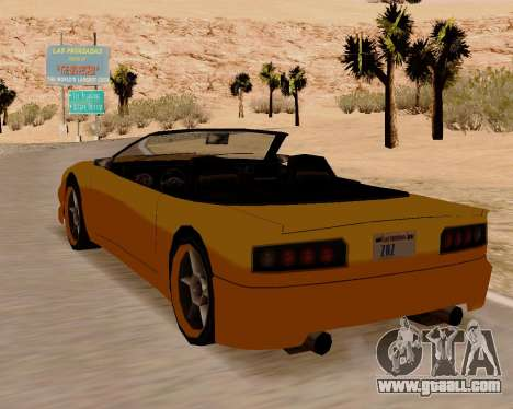 Super GT Convertible for GTA San Andreas back left view