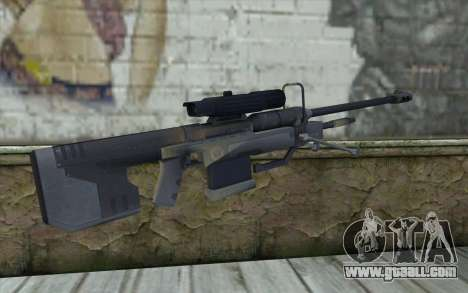 Sniper Rifle from Halo 3 for GTA San Andreas second screenshot
