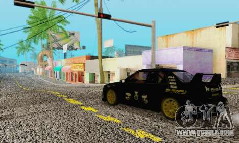 Heavy Roads (Los Santos) for GTA San Andreas forth screenshot