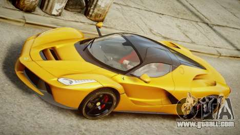 Ferrari LaFerrari v1.2 for GTA 4 back left view