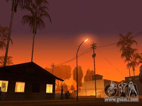 Beta Timecyc for GTA San Andreas third screenshot