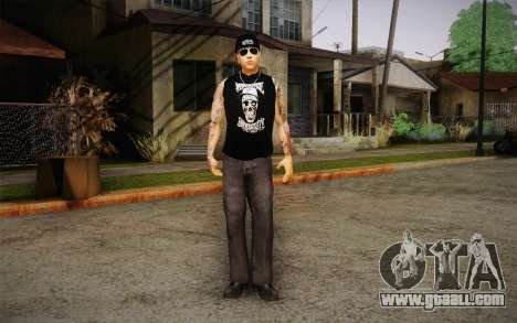 M. Shadows Skin for GTA San Andreas second screenshot