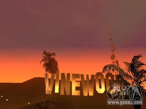 Beta Timecyc for GTA San Andreas second screenshot