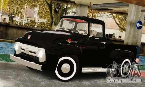 Ford F100 Hot Rod Truck 426 Hemi for GTA 4 right view