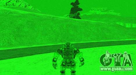 TitanFall Atlas for GTA San Andreas eighth screenshot